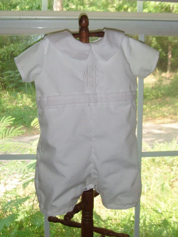 baptism/Dedication... for spring?: Affordable Boys, Boy Christening, 41 50, 36 50, Baptisms Outfits, Dedication Outfits, Boys Christening Rompers, Awesome Etsy, Christening Outfits