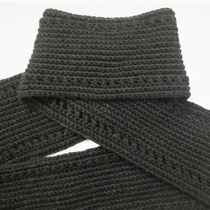 #menscarf #crochetscarf #invisibleman #menswear