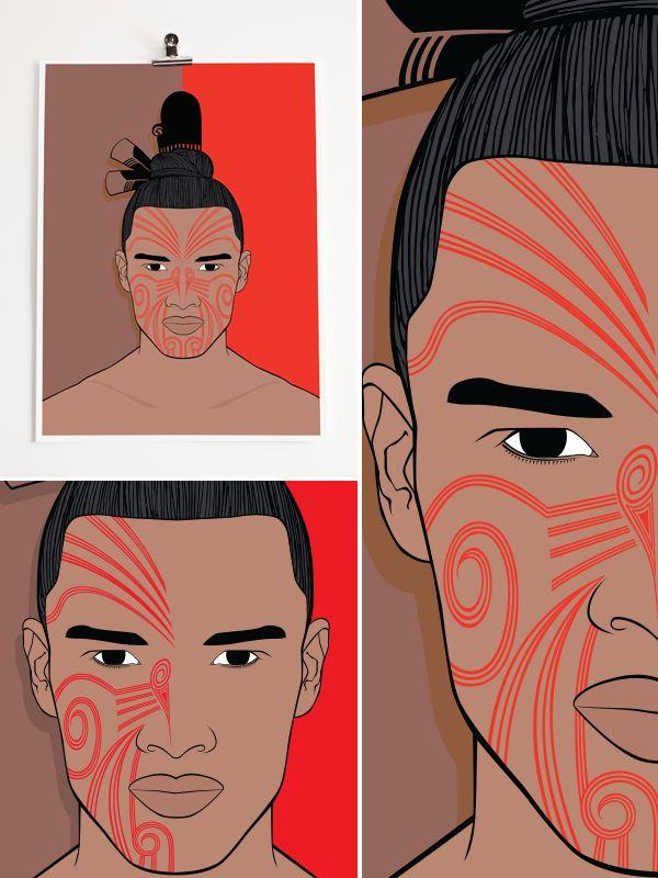 2013 Artwork Series: Tane (Man)