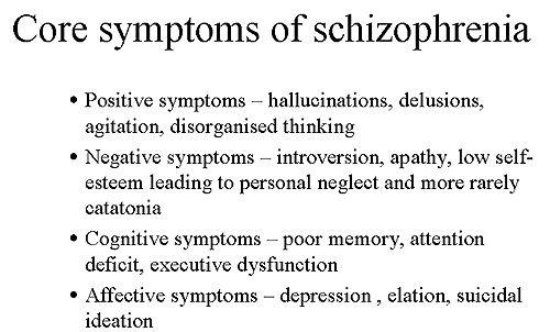 Core symptoms of schizophrenia. - Image - Drug Development Technology