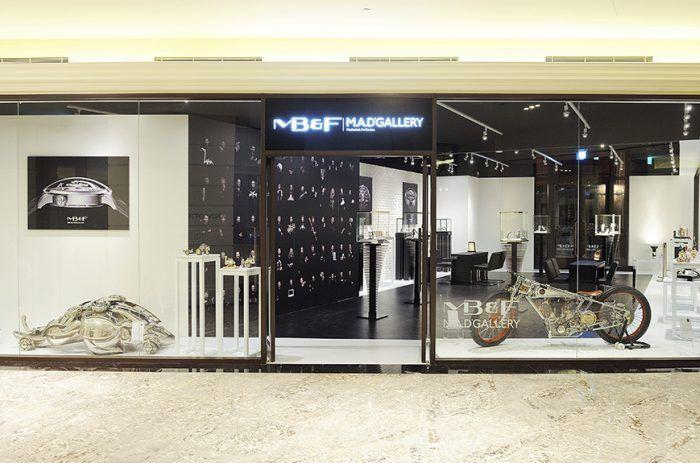 La M.A.D. Gallery, concept de galerie d'art mécanique lancé à Genève (Suisse) fin 2011 par MB&F vient d'ouvrir son pendant à Taipei, capitale de Taiwan, au sein du prestigieux hôtel Mandarin Oriental. Une belle consécration pour les Mechanical Art Devices ! «Quand nous avons ouvert notre...
