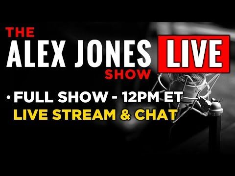 24hr stream and chat Alex Jones Live Commercial Free Wed. 8/2/17