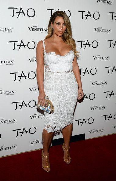 Kim Kardashian - Kim Kardashian Celebrates Her Birthday At Tao Nightclub