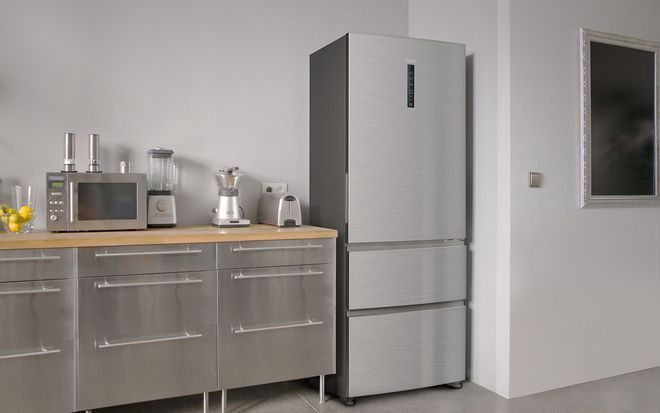 1000 ideas about frigo americain on pinterest frigo gaz - Peindre un frigo couleur inox ...