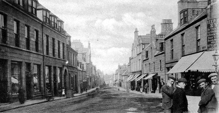 Old Photograph Peterhead Scotland