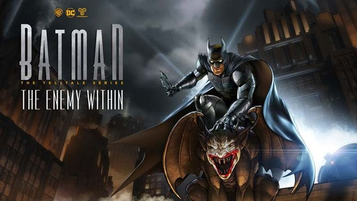 Telltale Announce New Batman, The Walking Dead and The Wolf Among Us