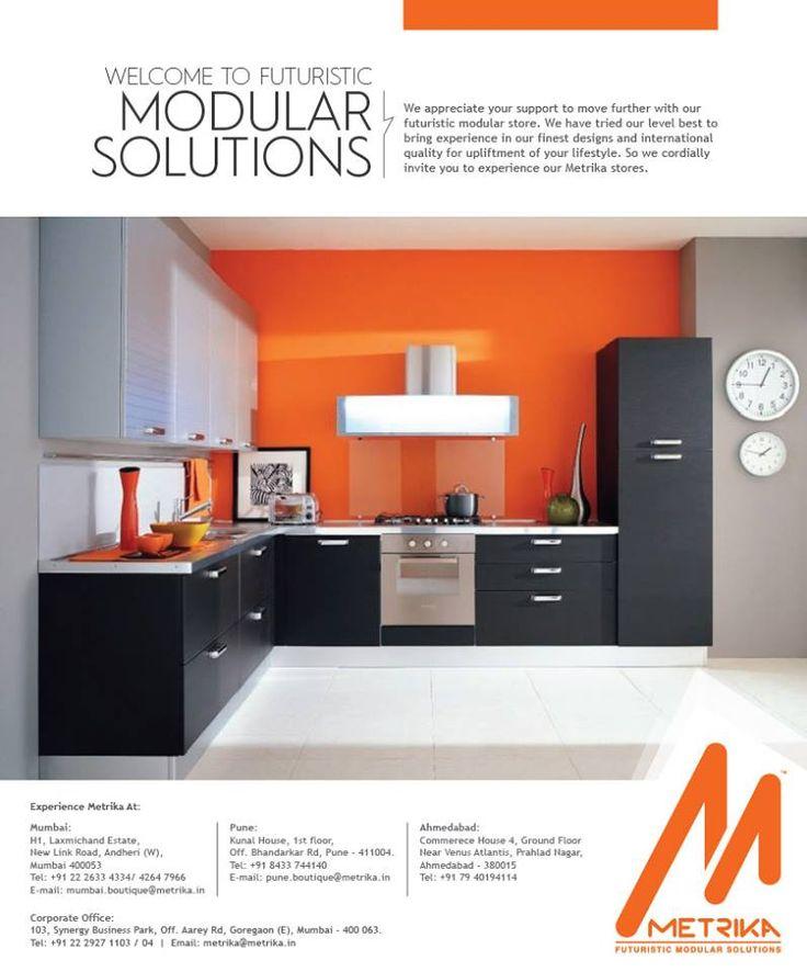 14 best Metrika - Modular Kitchens, Beds & Wardrobes images on ...
