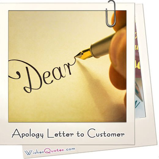 Apology Letter to Customer – 8 Useful Sample Letters and Templates