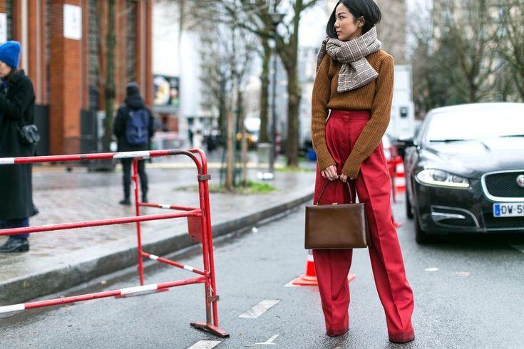 Paris Fashion Week Street Style Fall 2017 - Street Style at Paris Fashion Week 2017