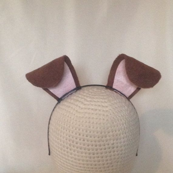 how to make donkey ears headband