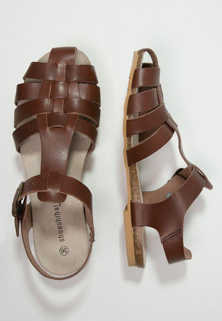 Shoeshibar LAGOS - Sandales - brown - ZALANDO.FR