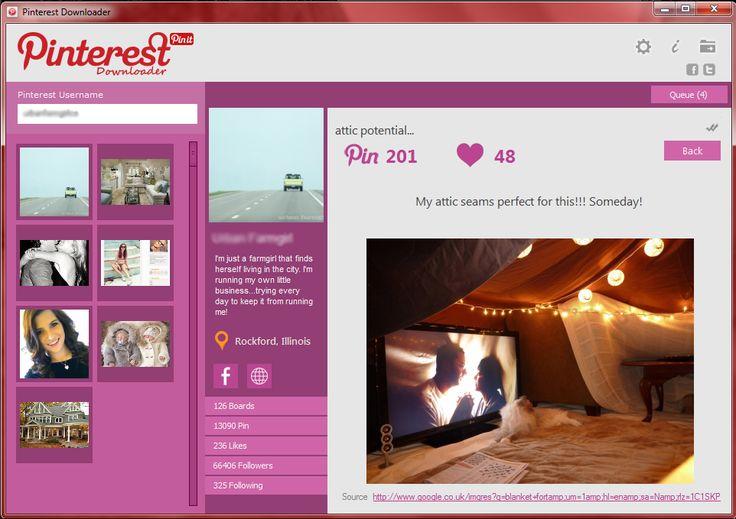 Backup your Boards with Pinterest Downloader http://www.majorshare.com/pinterest-downloader/