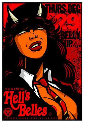 Scrojo, Hell's Belles Poster
