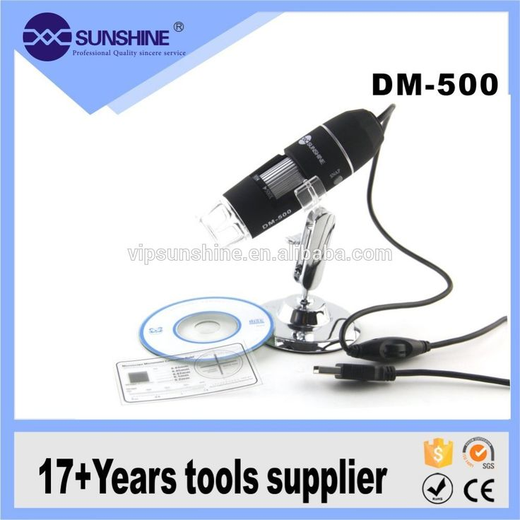 High Quality 500x Usb Electric Digital Microscope Camera With 8 Led Light Photo…