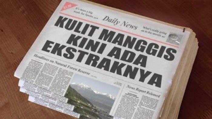 Headline News , Manfaat Kulit Manggis Untuk Kesehatan | Kabar Terkini Dunia Pertanian dan Bisnis