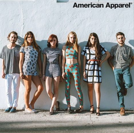 American Apparel launches collection with Nathalie Du Pasquier