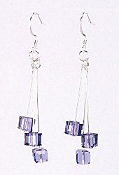 Jewelry Making Idea: Tanzanite Drop Earrings