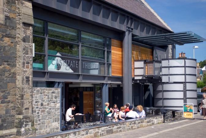 Richard Murphy Architects: Eastgate Theatre & Arts Centre, Peebles, Borders Region