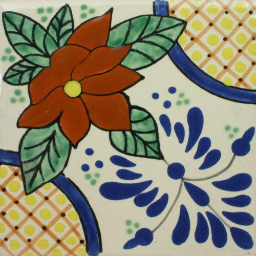 Especial Decorative Tile - Lacandon – Mexican Tile Designs