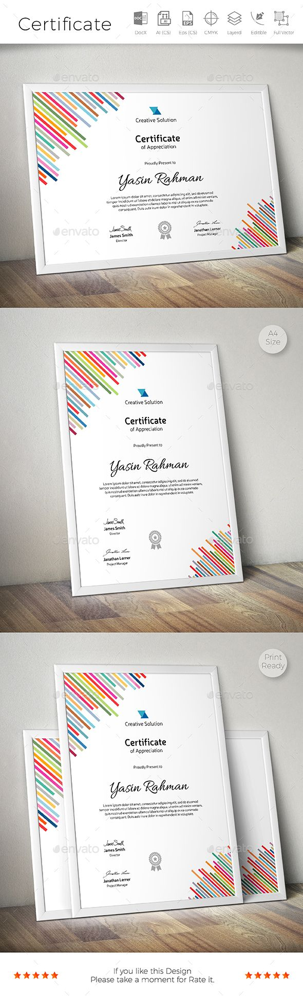 18 best сертификат images on Pinterest | Certificate templates ...
