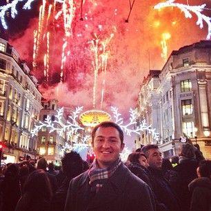 Christmas Lights on Regent Street #regentstreet #london #christmas - dandelgrosso
