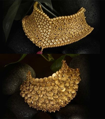 Gold Jewellery Design For Bride
