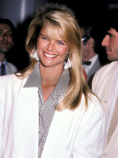 """Christie Brinkley, 1984 Banish the wrinkles and the fat! Look 7 years younger with this revolutionary diet plan that melts fat and """"turns back time."""""""