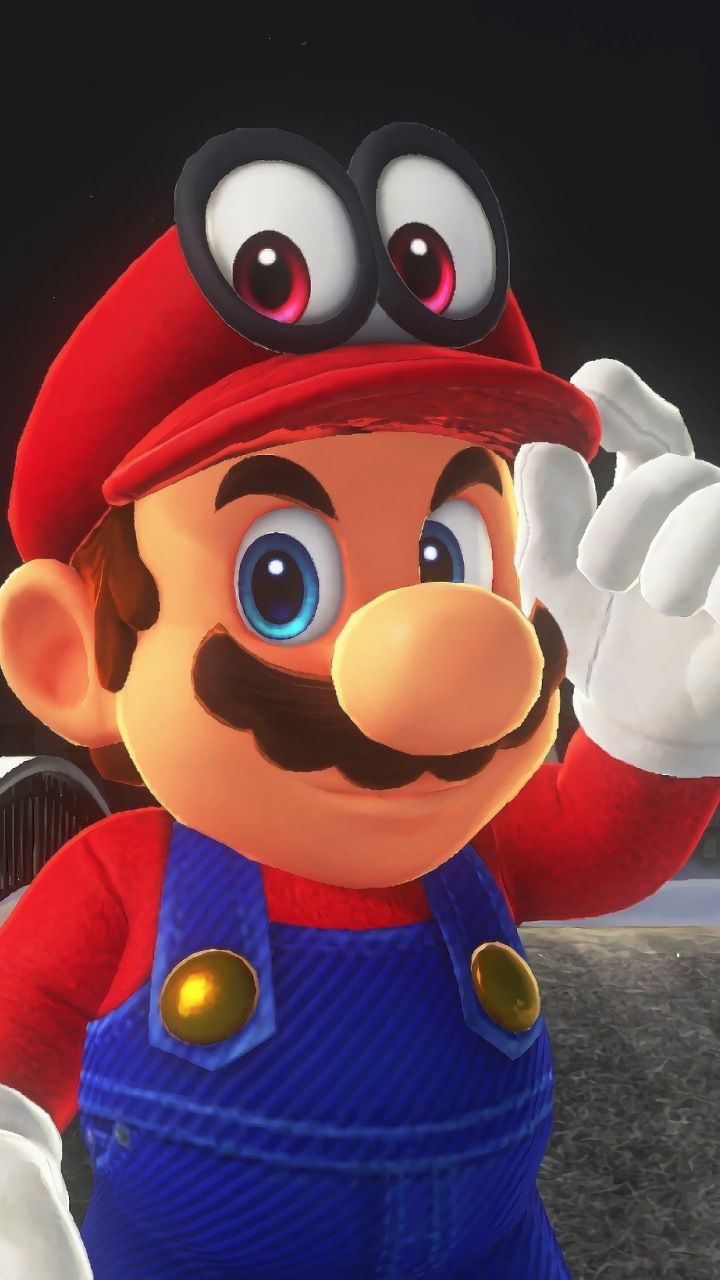 Mario Super Mario Odyssey Video Game Wallpaper Desenhos Do