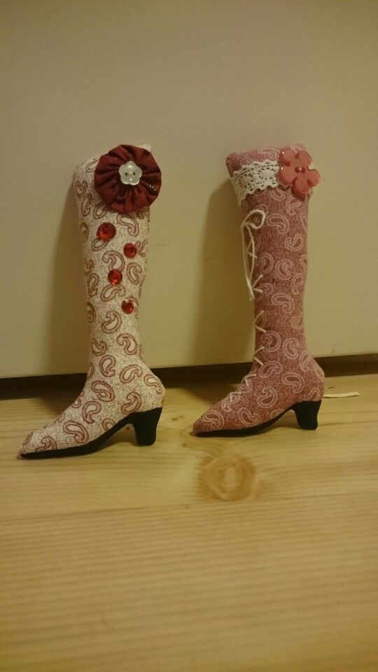 Christmas ornaments, boots