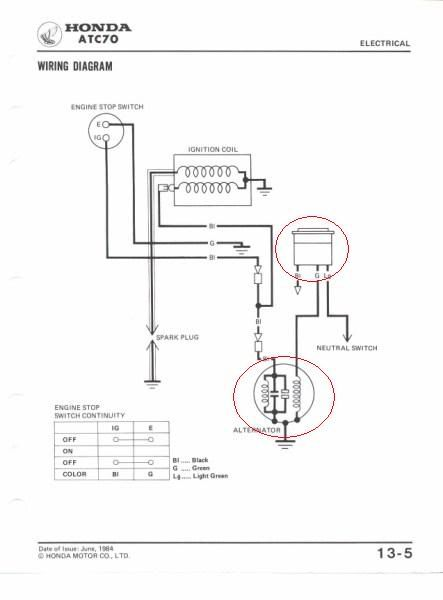 44eb038205506acbf35f10cd00be3281 honda boats 51 best atc images on pinterest honda, atvs and dirt bikes atc 70 wiring diagram at webbmarketing.co