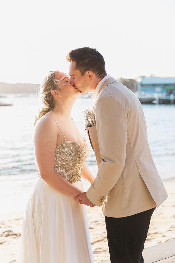 Anna + Tim 💕  #weddings #love #weddingphotography #watsonsbay