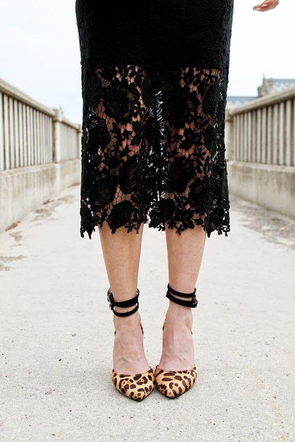 lace // leopard