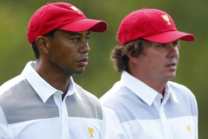 Tiger Woods lifts the gloom with his best round this year at The Greenbrier ... Amanda Dufner  #AmandaDufner