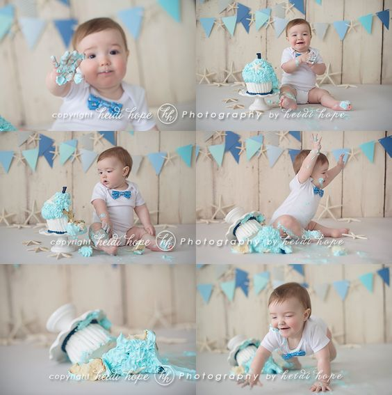 20 Cutest Photoshoots For Your Baby Boy's First Birthday