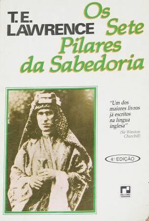 Os Sete Pilares da Sabedoria - Sebo Brandão Bahia   Estante Virtual