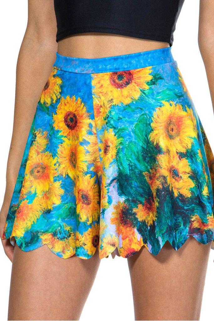 Sunflower Shorties
