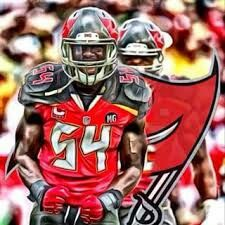 LB Lavonte David of the Tampa Bay Buccaneers