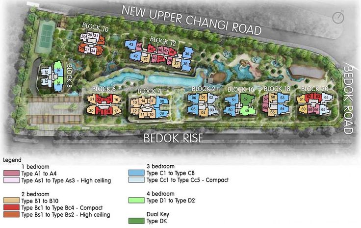 The Glades Condo - Site Plan
