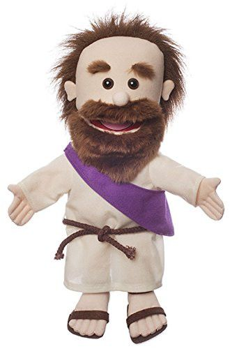 This new hand puppet is part of our Christian puppets line. These puppets make great gifts and are perfect for puppet ministry at church. Beautifully made with great attention to detail. This 14 inch