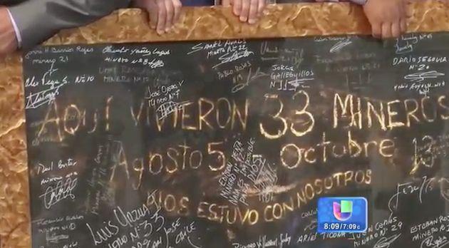 Mineros Chilenos Rescatados Se Reúnen Con El Papa Francisco #Video