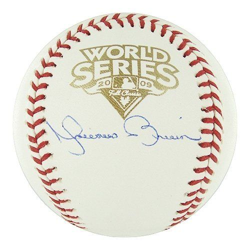 Mariano Rivera Autographed/Hand Signed 2009 World Series baseball by Hall of Fame Memorabilia. $285.95. Autographed Mariano Rivera 2009 World Series baseball. In 2009 the Yankees won there 40th American League Pennant by sweeping the Minnesota Twins in the ALDS and defeating the LA Angels 3 game to 2 in the ALCS. The Yankees are going for there 27th World Series Championship against the Philadelphia Phillies. Steiner Sports-This items come with a certificate an...