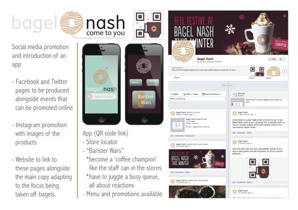 Bagel Nash by Jess Aston, via Behance