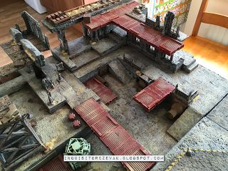 Warhammer 40k, Necromunda and inq28 modelling and painting blog