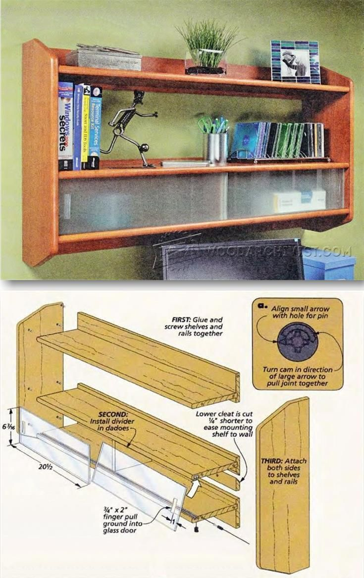 Building Wall Shelf - Furniture Plans and Projects   WoodArchivist.com