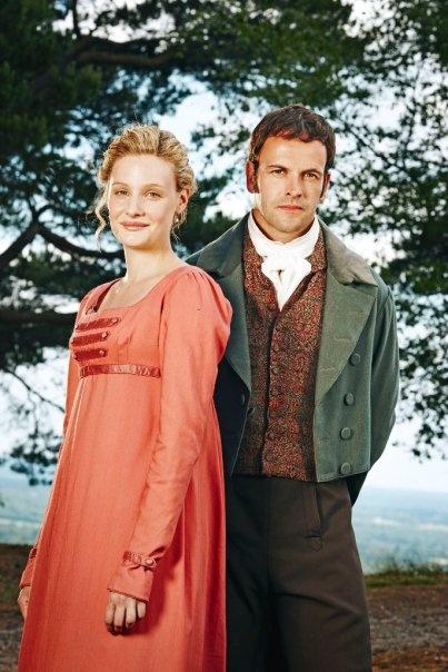 Jonny Lee Miller & Romola Garai as Mr. Knightley & Emma Woodhouse in Emma (2009)