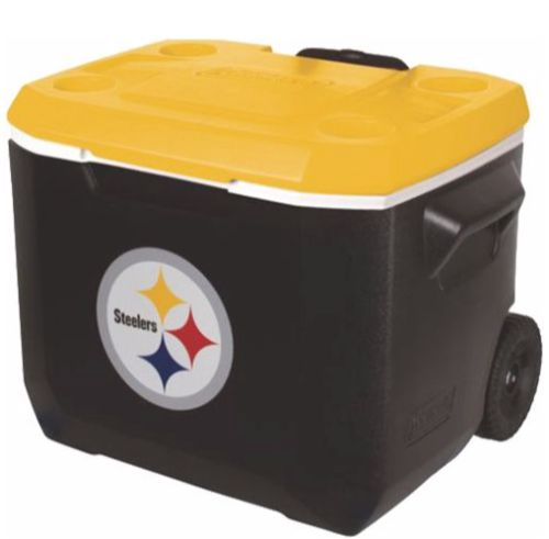 Pittsburgh Steelers 60qt Rolling Cooler