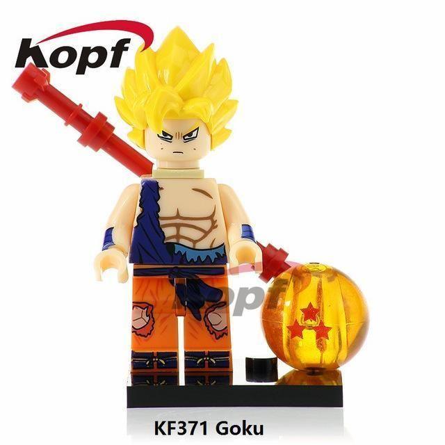 DBZ Custom Dragon Ball Z Super Android 13 Minifigure Block Toy on Lego Brick