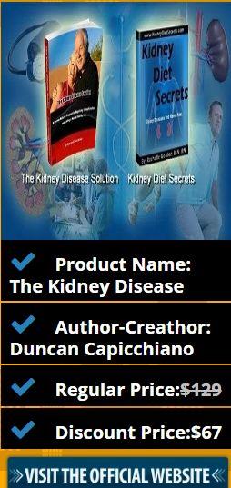 Product Name: The Kidney Disease Author-Creathor: Duncan Capicchiano Regular Price:$129 Discount Price:$67