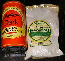 Malt - another key component to August's flavor! Wikipedia, the free encyclopedia