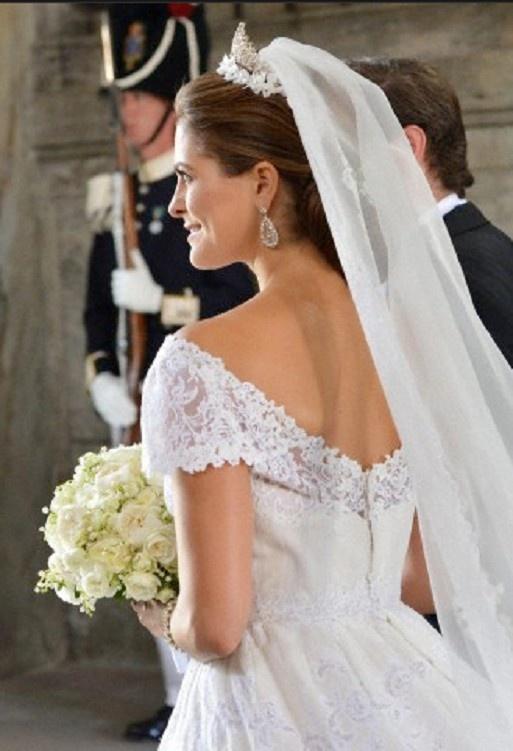 Swedish Princess Madeleine after her wedding 08 June 2013